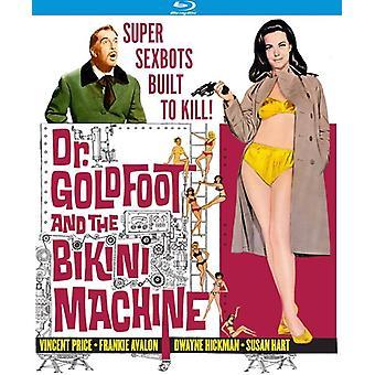 Dr. Goldfoot en de Bikini Machine [Blu-ray] USA import