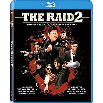 RAID-2 (Unrated) [BLU-RAY] USA import