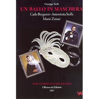G. Verdi - Verdi: Un Ballo in Maschera [DVD Video] [DVD] USA import