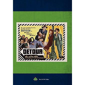 Detour [DVD] USA import