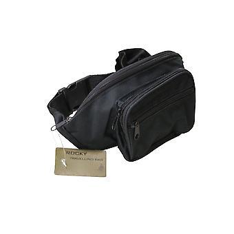 Bumbag Fanny Pack 4 Pockets Money Belt Travel Bag