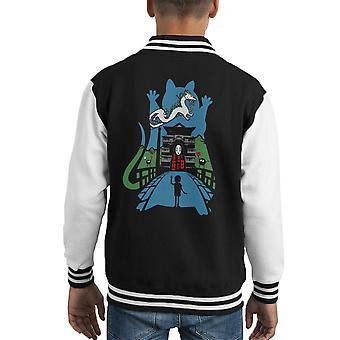 Goodbye Spirited Away Kid's Varsity Jacket