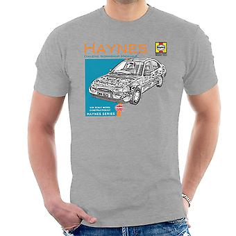 Haynes Owners Workshop Manual 1923 Ford Mondeo Men's T-Shirt
