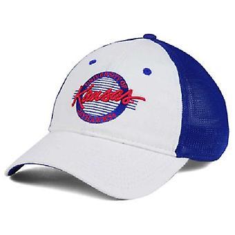 "Kansas Jayhawks NCAA ""Circle"" A-Flex Stretch Fitted Hat"