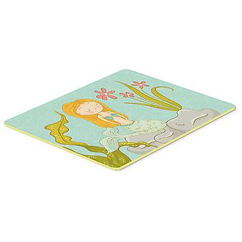 Mermaid Underwater Scene Kitchen or Bath Mat 20x30