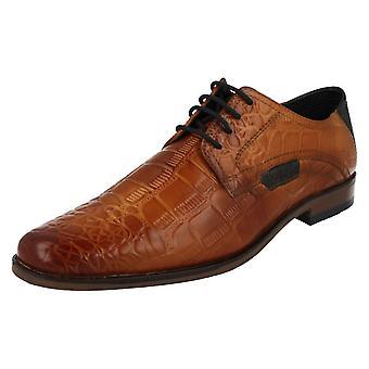 Mens Bugatti Smart Lace Up Shoes 15601
