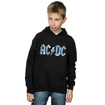 AC/DC Boys Blue Ice Logo Hoodie