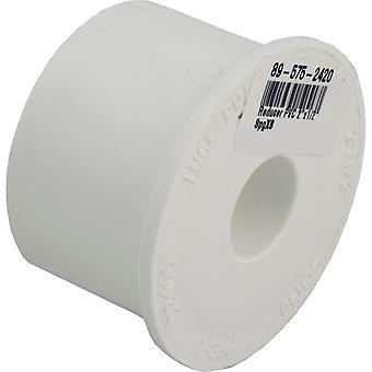 "Dura 437-247 2""x 0.5"" SCH40 PVC Reducing Bushing 437247"