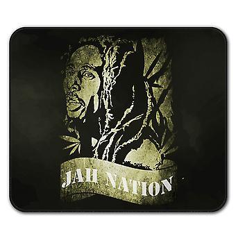 Bob Marley Jah Weed liukumaton hiirimatto Pad 24 cm x 20 cm | Wellcoda