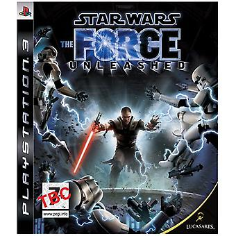Star Wars The Force Unleashed (PS3) - New