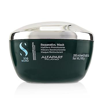 Alfaparf Semi Di Lino Reconstruction Reparative Mask (damaged Hair) - 200ml/6.88oz