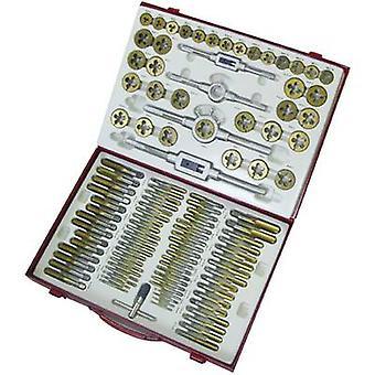 Holzmann Maschinen H070300003 Tap tool kit 101-piece HSS metric M2, M3, M4, M5, M6, M7, M8, M9, M10, M11, M12, M14, M16, M18