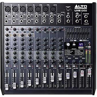 Alto Live 1202 blanding konsol nr. af kanaler: 12 USB-port