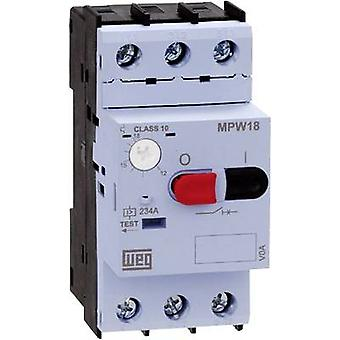 WEG MPW18-3-D063 Overload relay adjustable 6.3 A 1 pc(s)