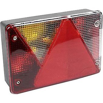 LAS Trailer tail light Multipoint Turn signal, Brake light, Number plate light, Rear fog lamp, Tail light, Reflector rear, left 12 V