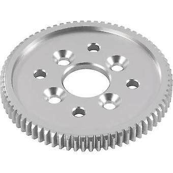 Reely 532033C tuning del aluminium 65-tenner hoved tannhjulet (0,6 modul)