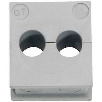 Tulejki przewodów QT Icotek 2/7 Ø Terminal (maks.) 7 mm elastomeru szary 1 szt.