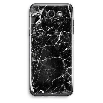 Samsung Galaxy J3 Prime (2017) przezroczysty (Soft) - czarny marmur 2