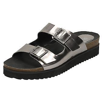 Dames tot aarde dikke enige sandalen