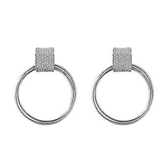 Orphelia Silver 925 Earring met Zirkonium en de kringen - ZO-7417