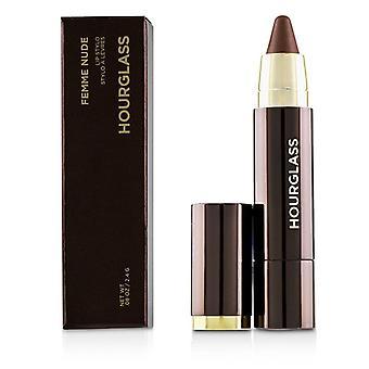 Zandloper femme naakt lip Stylo-#n5 (Gouden Perzik naakt met Shimmer)-2.4 g/0.08 Oz