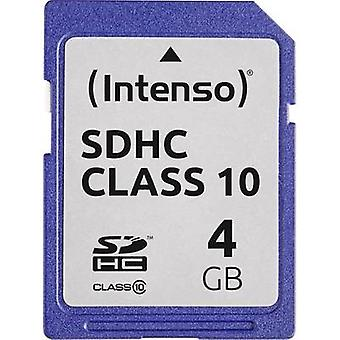 Intenso 3411450 Card SDHC 4 GB Clasa 10