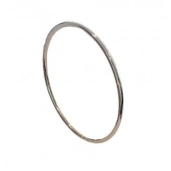 Cavendish Français en argent rond bracelet