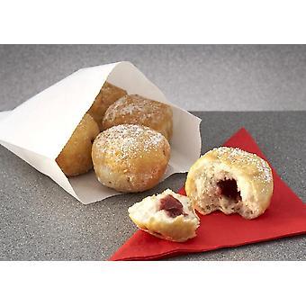 Kara Frozen Mini Sugared Apple & Raspberry Jam Doughnuts