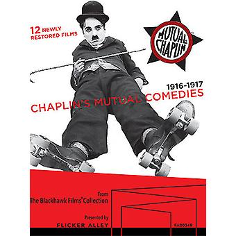 Chaplin's Mutual Comedies [Blu-ray] USA import