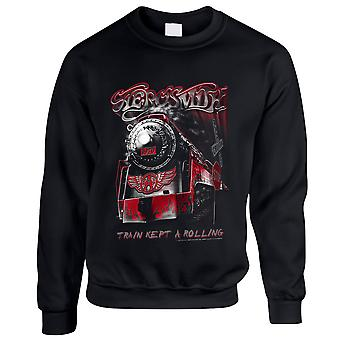 Aerosmith-Train holdt en going sweatshirt
