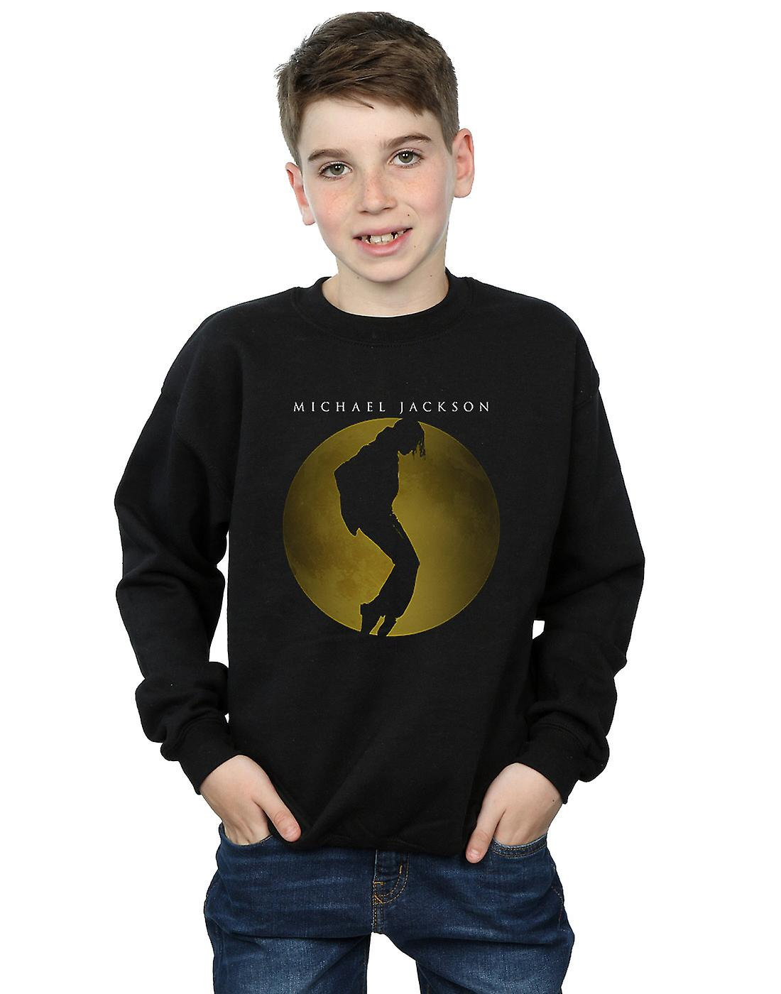 Michael Jackson Boys Moon Circle Sweatshirt