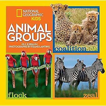 Dierlijke groepen door Jill Esbaum - Frans Lanting - 9781426320606 boek