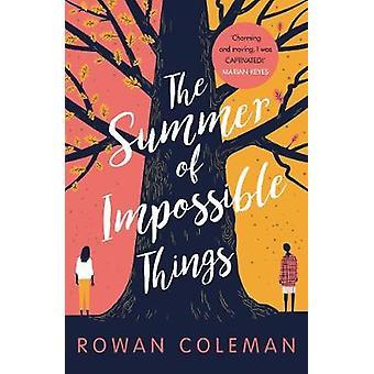 Sommaren omöjliga saker av Rowan Coleman - 9781785032431 bok