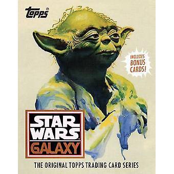 Star Wars-Galaxis - Topps Trading Card der Originalserie von Lucasfilm