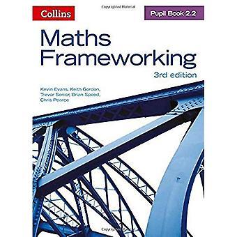 Cadrage de mathématiques - livre de l'élève 2.2