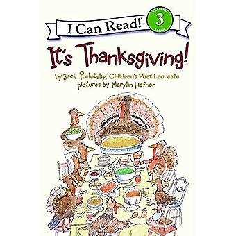 It's Thanksgiving! (I Can Read - Level 3)
