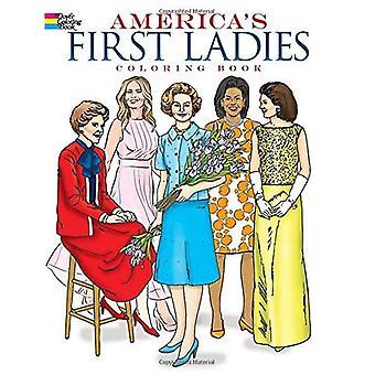 Americas First Lady Coloring boek
