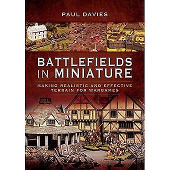 Campi di battaglia in miniatura: rendendo il terreno realistico ed efficace per Wargames