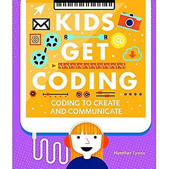 Kodning för att skapa och kommunicera (barn få Coding)