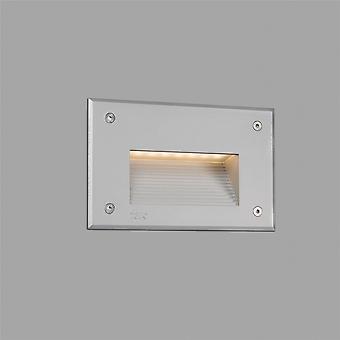 Faro - Store grå ledet utendørs innfelte veggen lys FARO70451