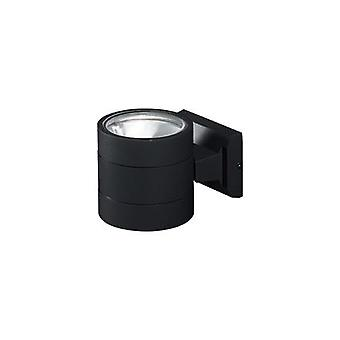 Ideal Lux - Snif redondo pared negra luz IDL061450