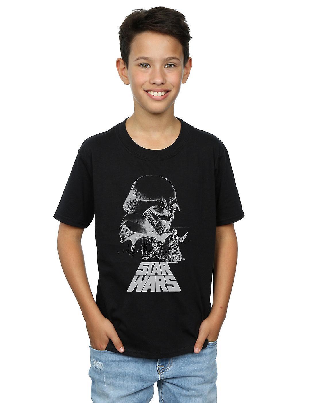 Star Wars Boys Darth Vader Sketch T-Shirt