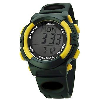 Lifemax 429-wristwatch, male, resin, colour: black