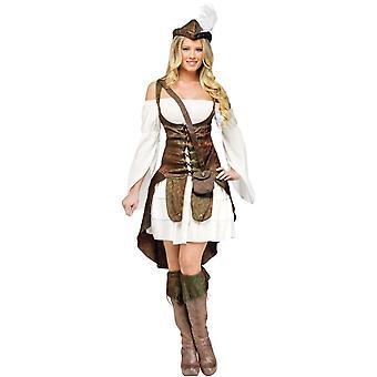 Miss Robin Hood Female Adult Costume