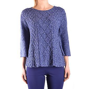 Jacob Cohen Ezbc054202 Damen's Blauer Wollpullover