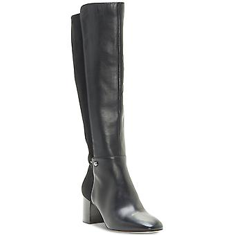 Enzo Angiolini Womens Pakemer 50/50 Leather Almond Toe Knee High Fashion Boots