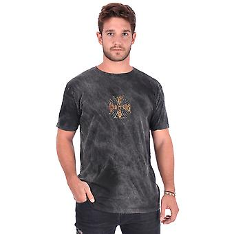 West Coast choppers mens T-Shirt Web cross vintage