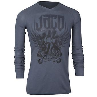Jaco Mens Venerable Thermal Shirt - Gray