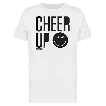 SmileyWorld Cheer Up Winking Face Men's T-shirt