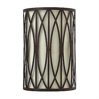 Elstead-2 lys indendørs væg lys victoriansk bronze-HK/WALDEN2